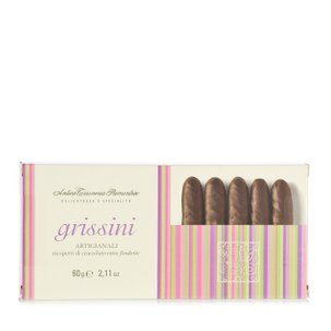 Handcrafted Chocolate Coated Grissini Breadsticks 60g