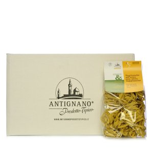 Antignano Taggiasca Olive Tagliatelle made with Eggs 250g 15 pcs.