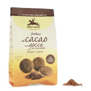 Cocoa Chocolate Chip Shortbread 300g