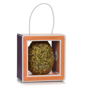 Milk chocolate egg with Bronte pistachios 250g