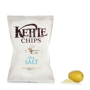 Chips with Sea Salt 100g