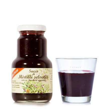 Succo di Mirtilli Senza Zucchero 200ml