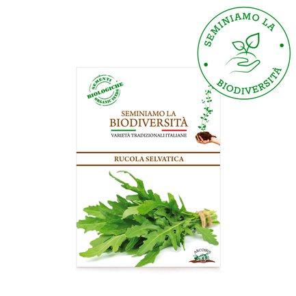 Semi Bio Rucola Selvatica 3gr