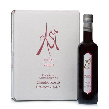 Asì Aceto da Vini Rossi di Langa 500ml 6 pz.