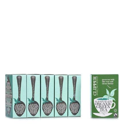 Tè Verde con Aloe Vera e Limone 20 Filtri 6 pz.
