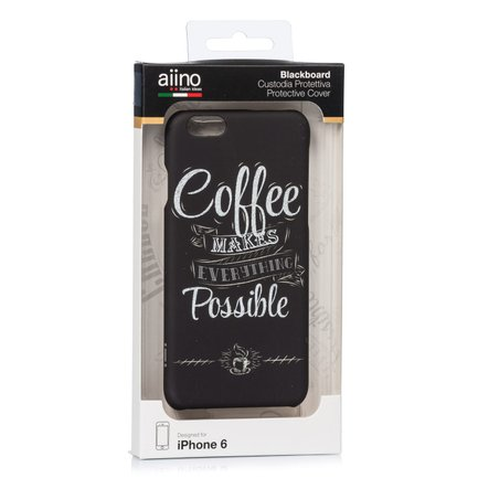 Cover iPhone6 e 6s Blackboard Caffè