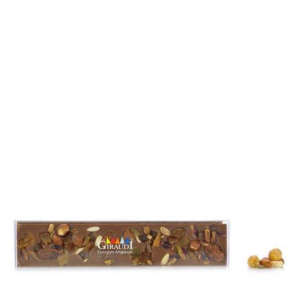 Cioccolato al Latte e Frutta Secca 120g