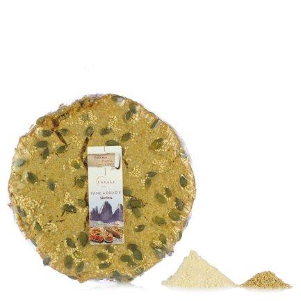 Pane croccante ai semi di zucca  150gr