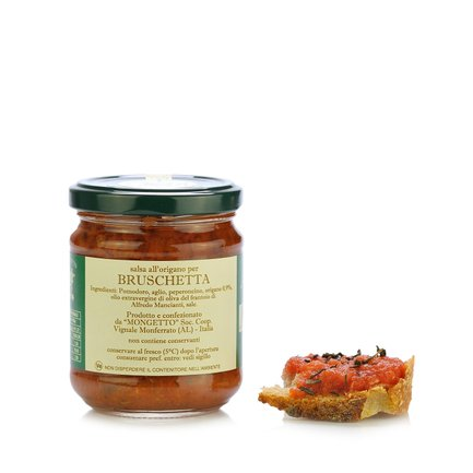 Salsa all'Origano per Bruschetta 180g