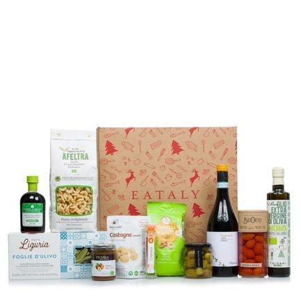 Cesto natalizio prodotti biologici