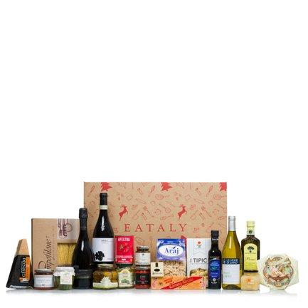 Cesto natalizio prodotti regionali italiani