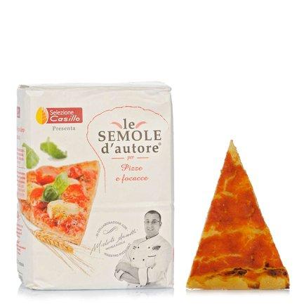 Semola di Grano Duro per Pizze e Focacce 1kg
