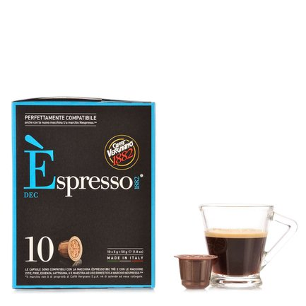 Espresso Decaffeinato 10 capsule 50gr