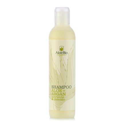 Shampoo Nutriente Aloe & Argan 250 ml