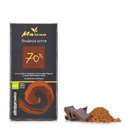 Mascao Cioccolato Fondente Extra 70%  100g