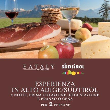 Esperienza in Alto Adige/ Südtirol