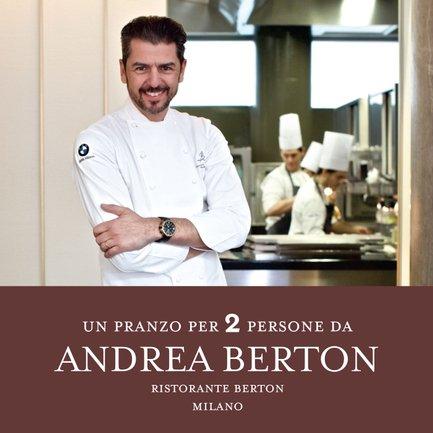 Un pranzo da Andrea Berton