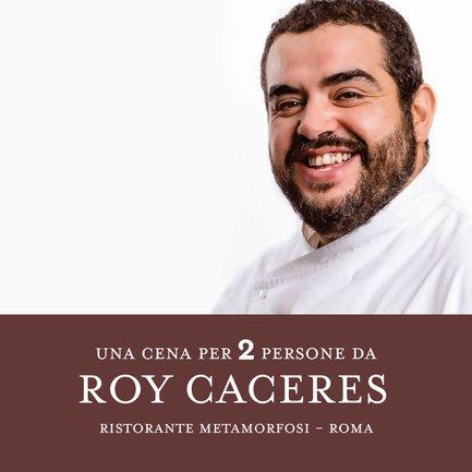 Una Cena da Roy Caceres