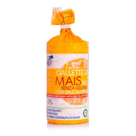Gallette di Mais Bio 100g
