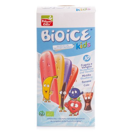 Ghiaccioli Kids Bio 10x40ml