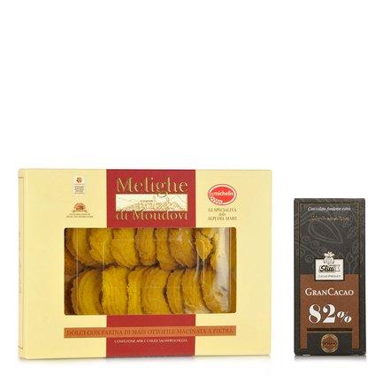 Tavoletta Gran Cacao e Melighe Mondovì