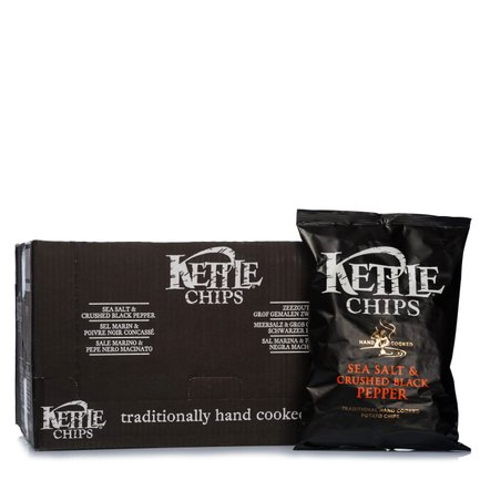 Chips Sale Marino e Pepe Nero  8 pz. 800g