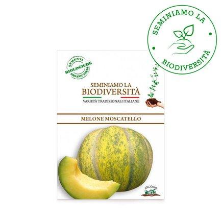 Semi Bio di Melone Moscatello