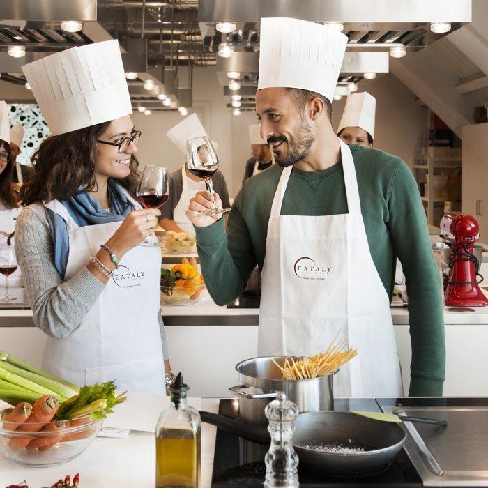 Quattro mani sono meglio di due il menu delle coppie eataly - Corsi cucina piacenza ...