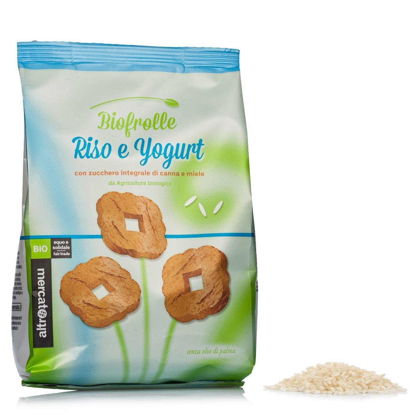 Risultati immagini per biofrolle riso e yogurt