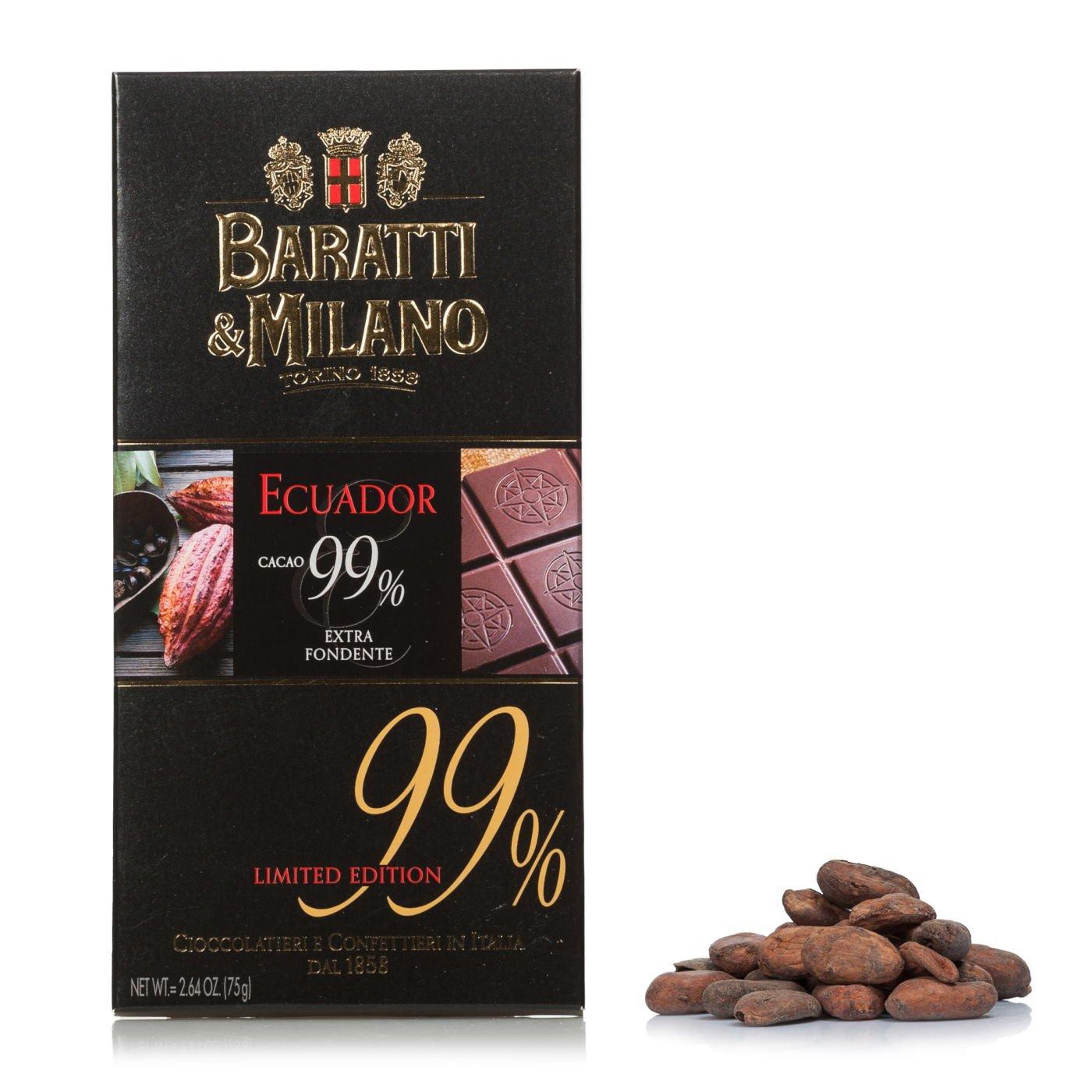Tavoletta Extra Fondente Ecuador 99% 75g - Baratti & Milano | Eataly