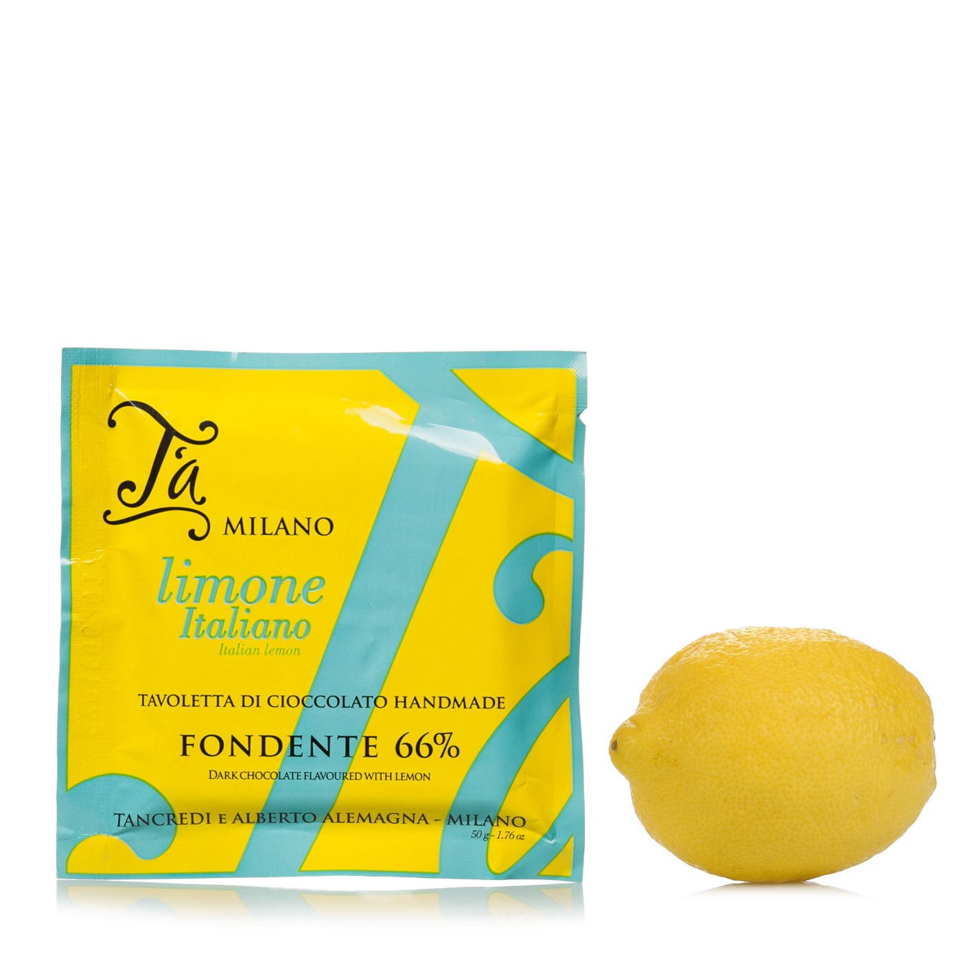 Tavoletta Di Cioccolato Aromatizzata Al Limone 50g Ta Milano Eataly