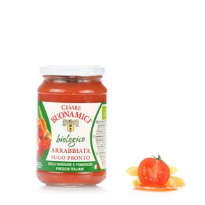Sugo Pronto all'Arrabbiata Bio 340g
