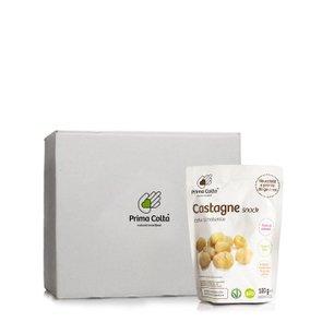 Castagne Bio Cotte al Naturale 12 pezzi 100gx12
