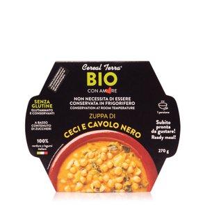 Zuppa di Ceci e Cavolo Nero Bio  270g