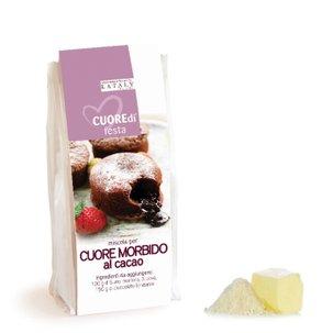 Miscela per Cuore Morbido al Cacao 200g