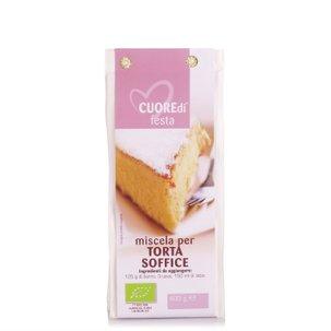 Miscela Torta Soffice Bio 400g