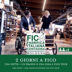 2 Giorni a FICO: 1 Notte in Hotel, Pranzo o Cena Il Ghiottone e FICO Tour