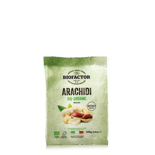 Arachidi Tostate Bio con Guscio 250g