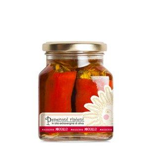 Peperoni Ripieni in Olio Extravergine d'oliva 250g