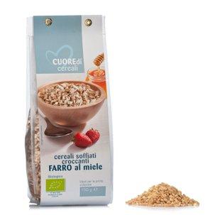 Farro Soffiato al Miele Bio 150g