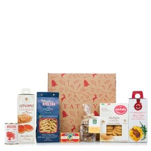 Cesto natalizio con prodotti italiani