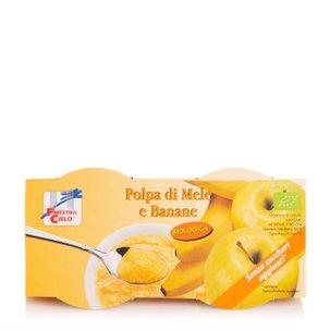 Polpa di Mela e Banana 2x100g