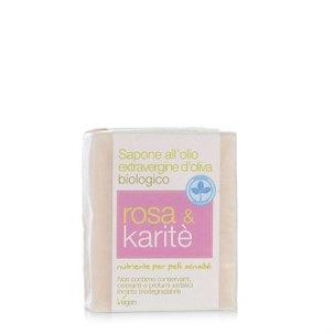 Sapone Rosa e Burro di Karité 100g