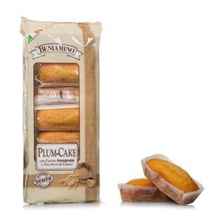 Plumcake Integrale con zucchero di canna 216g