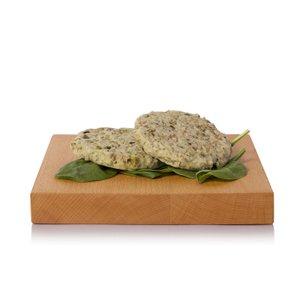 Burger di Montasio con Spinaci e Zucchine  160g