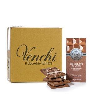 Tavoletta Chocolight al Latte Superiore 100g  24 pz.