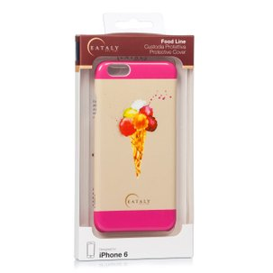 Cover iPhone6 e 6s Food Gelato