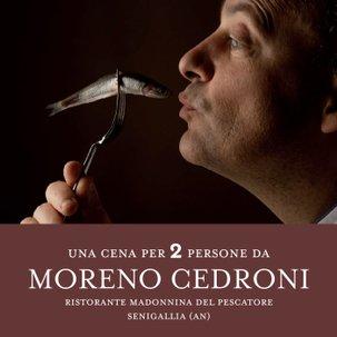 Una Cena da Moreno Cedroni