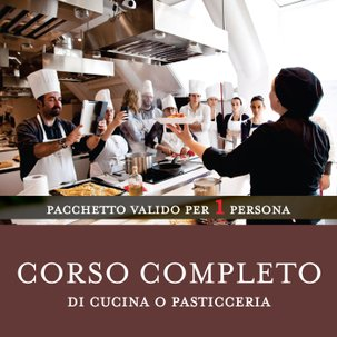 Corso Completo di Cucina o Pasticceria