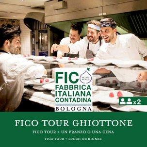 FICO Tour e un Pranzo o Cena Il Ghiottone